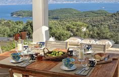 Melyssia House Corfu.  5 Dbl bedrooms.  Chef available.