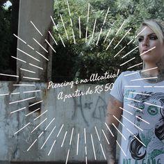 Promoção de #piercing na Alcateia. A partir de R$ 50. #AlcateiaFloripa #Floripa #Alcateia