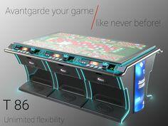 Stiai ca acum la un singur centru de ruleta poti conecta pana la 40 de mese de ruleta? Noul produs T86 ofera acest avantaj inovativ Jukebox, Flexibility, Entertainment, Cards, Back Walkover, Maps, Playing Cards, Entertaining
