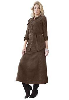e24f06c7f33 Jessica London Women s Plus Size Moleskin Skirt Set http   www.amazon.