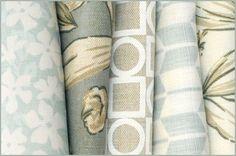 Victoria Hagan fabrics in a pretty palette