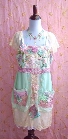 Great Gatsby Bliss Afternoon Tea Dress  Babydoll by roselanijasmin, $65.00