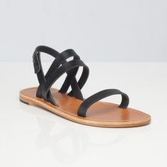 The Women's Summer Sandal in Black from Everlane