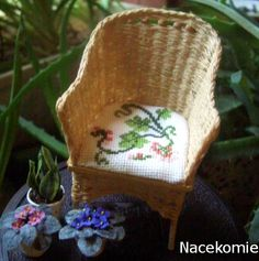 how to: wicker chair
