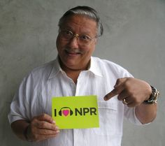 Not to toot our own horn, but Cuban trumpeter Arturo Sandoval loves NPR. (June 2012)