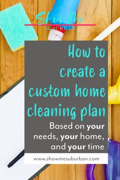 How to Create a Practical Home Cleaning Plan - ShowMe Suburban Speed Cleaning, Cleaning Hacks, Cleaning Routines, Cleaning Lists, Cleaning Schedules, Chore List For Kids, Chores For Kids, Weekly Cleaning Checklist, Clean House Schedule