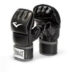 b596f65a32c Everlast Black Faux-leather Wrist Wrap Heavy Bag Gloves (Large/ X-Large)