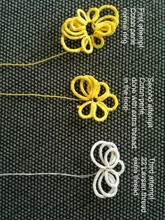 Clever: extra thread in the loop for Ankars tatting