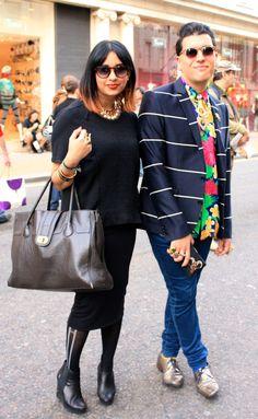 London Street Style #VFNO @British_Vogue