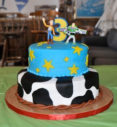 Toy story cake for Carson's 3rd Birthday