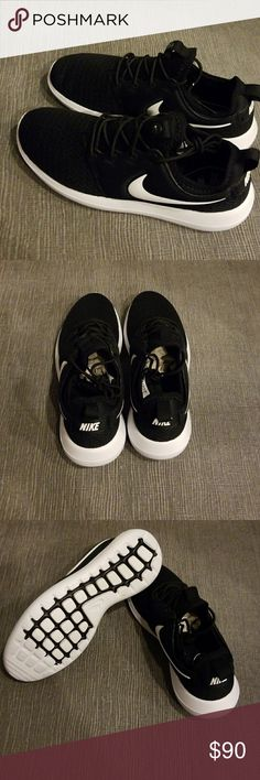 New Nike Roshe New in box Nike Roshe Two in classic black and white. Can