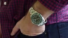 """Rolex """"Hulk"""" Submariner 116610V 