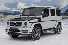 Mercedes-Benz G-Class by #MANSORY #mbhess #mbcars #mbtuning