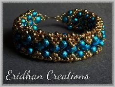 Eridhan Creations - Beading Tutorials: Reversible beaded bracelets