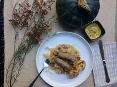 German Sauerkraut | Oktoberfest | Fall | Fall Dinner | German Food | German Recipe | Season and Serve Blog Fall Recipes, My Recipes, Fall Dinner, Sauerkraut, German, Easy Meals, Seasons, Cooking, Breakfast