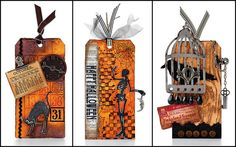 Halloween Tags by @Tim Holtz