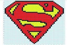 Superman 8 bit