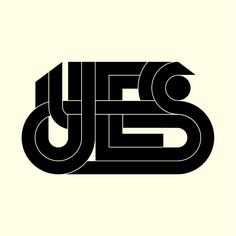 I Love Ligatures / Yes - by Jeremy Pettis / #ligatures #typography