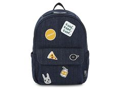 CHOCOOLATE Patches mini denim backpack