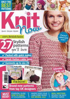 Knit Now Issue 44 2015 - 轻描淡写 - 轻描淡写