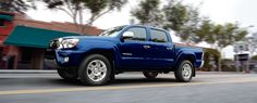 4x4 Double Cab V6 shown in Blue Ribbon Metallic with available Limited Package