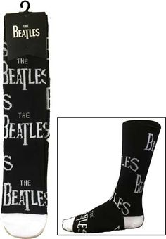 The Beatles Logo Socks