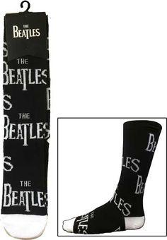 The Beatles Logo Socks