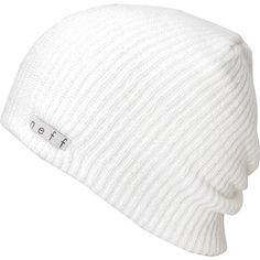 f26a71d4ea4 Neff Daily Slouch beanie for cold nights and good times. This neff beanie  is a soft and stretchy knit hat that goes with any outfit and fits right  under ...