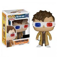 Figurine Pop! Doctor Who 10ème docteur lunettes 3D