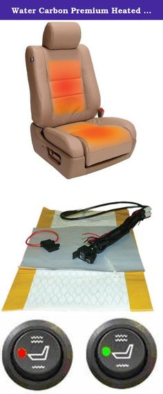 OEM Equipment Five Year Warranty Universal Dual Settings WATERCARBON Premium Heated Seat Kit