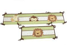 Little Bedding Traditional Padded Bumper, Jungle Pals Little Bedding,http://www.amazon.com/dp/B00BDI2HIG/ref=cm_sw_r_pi_dp_IbZysb1892HANZNT