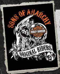 Free Harley Davidson Sons of Anarchy Sticker