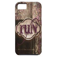 Grunge Run iPhone 5 Cases