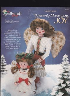 HEAVENLY MESSENGERS * JOY by SANDRA MILLER-MAXFIELD AND FRAN ROHUS 1/10