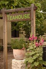 One of my favorite places, The Teahouse on Canyon Road.  After 4 hours of browsing art galleries you come to the end of Canyon Road and are met with a delightful garden and a cup of tea. Ahhh...  Insider Tip: try the Lavender Lemonade, tastes like summer!