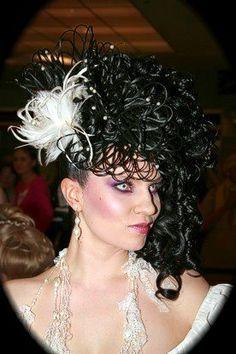 Hair open fantasy Fantasy Hair, Crown, Fashion, Moda, Corona, Fashion Styles, Fashion Illustrations, Crowns, Crown Royal Bags