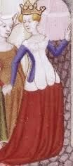 Queen  of France, beginning of the 15th century
