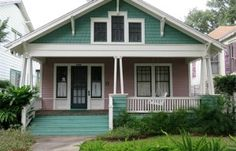 For Sale: A Cozy & Colorful Craftsman Bungalow in Galveston (Hooked on Houses)