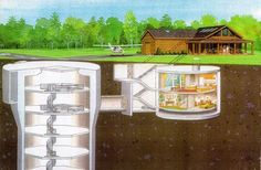 Former Nuclear Missile Silo For Sale in the Form of a House - On the Market - Curbed National