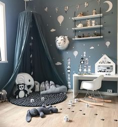 Likes, 40 Kommentare - Madelen Influencer & ♥ (@ auf In . Boy Nursery Bedding, Baby Bedroom, Baby Boy Rooms, Nursery Room, Kids Bedroom, Room Baby, Baby Room Design, Girl Bedroom Designs, Boys Room Decor