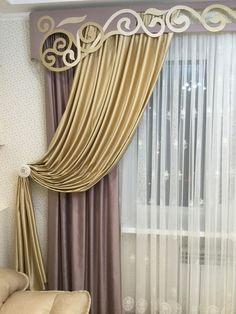 Drapes Curtains, Decoration, Window Treatments, Curtain Ideas, Windows, Living Room, Bedroom, Home Decor, Art