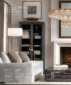 Enhance Your Senses With Luxury Home Decor Formal Living Rooms, Home Living Room, Living Room Designs, Living Room Decor, Living Spaces, Restauration Hardware, Living Room Inspiration, Furniture Inspiration, Home And Deco
