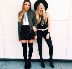 Nightlife outfits