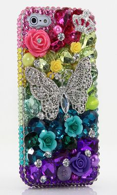iPhone 5 Bling Cases. | iPhone, Samsung, LG, Nokia Lumia, Motorola, Black Berry cases available at http://luxaddiction.com