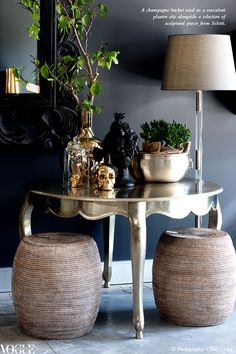 Yet another great vignette from Vogue Living Australia