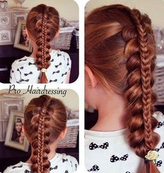 cool 20 Creative Braided Back to School Haistyles - The Right Hairstyles for You