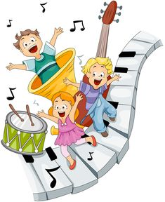 Music Clipart - Illustration by BNP Design Studio Preschool Music, Teaching Music, Musik Clipart, Ecole Art, Clip Art, Cute Clipart, Music Images, School Decorations, Music For Kids