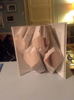 Playing Card Suit Book Folding Pattern by CraftyHana on Etsy £2.50