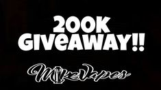 200000 Subscriber Giveaway!!!!!! - Mike Vapes Shout out to VaporDNA for the $500 worth of gift certificates. Check out there site http://bit.ly/VapordnaLink Great U.S. Site for Vape Products http://bit.ly/MyVpro Best wholesale shop from China https://ift.tt/2nvaPvE Check out for vape gear http://bit.ly/TheCloudyVapor Great site for vape gear http://bit.ly/VapeHappyLink Check out http://bit.ly/VapeSourcing1 My Patreon - https://ift.tt/2wYmDK1 Check out my website https://ift.tt/2w4EJxw…
