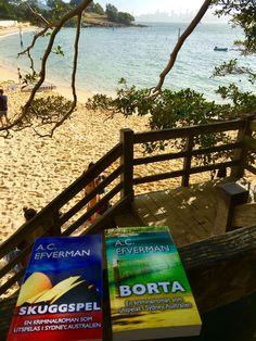 'Skuggspel' och 'Borta' - två deckare i Sydney-miljöer som har legat i toppen på Amazons försäljningslistor över hela världen. #svenska #deckare #sydney #australien #spänning #mordmysterie #efverman #böcker #författare #bok #stränder #hamn #skuggspel #borta #bokserie #svenska #svensk #kriminalroman #bestsellers
